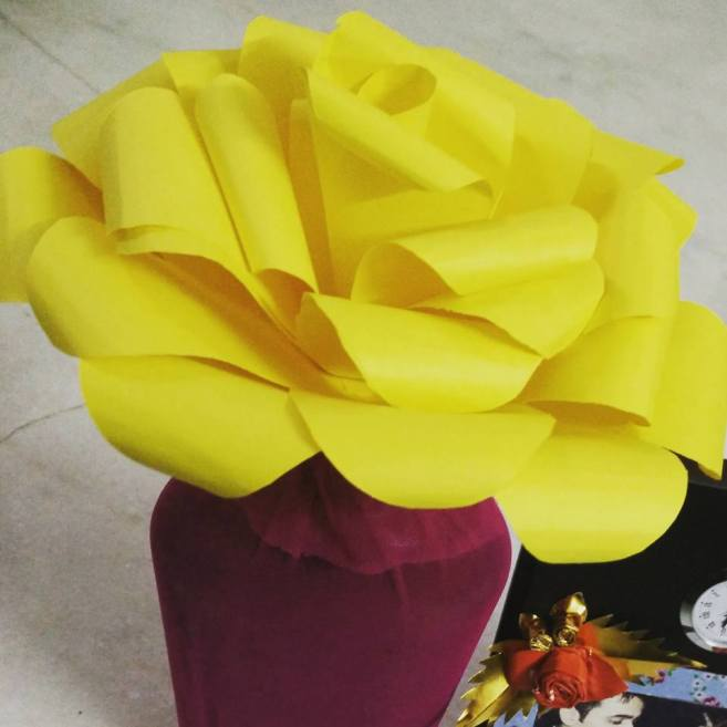 Paper Flower craft.
